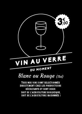 Affichette vins