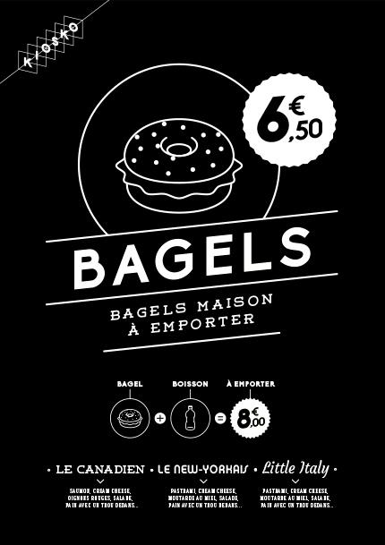 Affiche Bagels